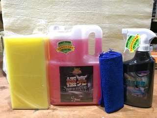 🚚 洗車水鍍膜超值組合