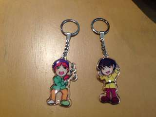 Bts acrylic keychain ( jungkook and jhope)