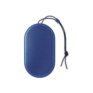 B&O BeoPlay P2 Bluetooth Speaker, Royal Blue With 2 Years Warranty
