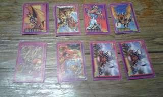 Rare Deathwatch 90's teks cards