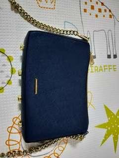 Rebeccaminkoff sling bag dark blue