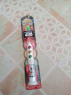 Firefly Star Wars Ready Go Brush 1 Minute Light-up Timer Toothbrush, Soft Bristles