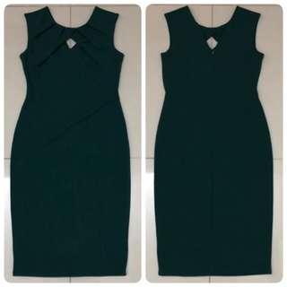 City Goddess London Dress (Green)