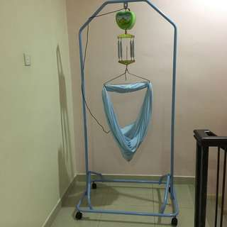 Electronic baby cradle + spring cot