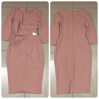 City Goddess London  Dress (Pink)