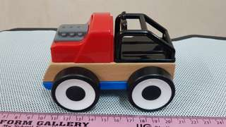 Lillabo wooden toy car