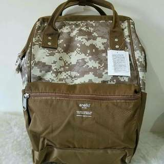 FREE SHIP Anello Bag Canvas School Backpack back pack camo 1
