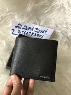 Customer's purchased, Prada wallet