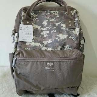 FREE SHIP Anello Bag Canvas School Backpack back pack camo 2