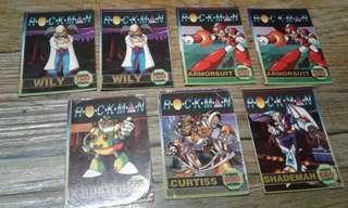 Rockman 7 Local Teks cards
