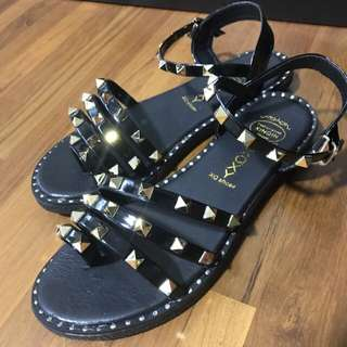 FALSH SALE $14 Brand new studded sandals