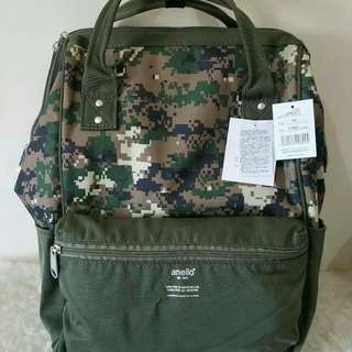 FREE SHIP Anello Bag Canvas School Backpack back pack camo4