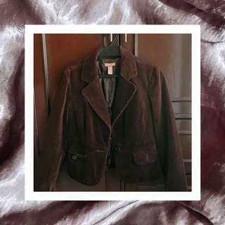 Gadzooks Brown Velvet Coat