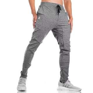 肌肉男衛褲健身兄弟新款訓練迷彩褲速乾修身學生運動小腳跑步長褲 預購 M-XXL