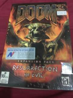 Doom 3 Resurrection of Evil - PC Game