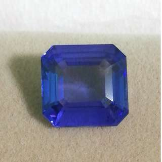 17.25 Cts Blue Tanzanite Marvel with Certificate. Interested PM for Price.
