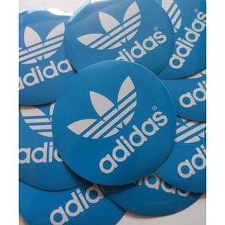 Adidas Originals Logo Sticker Luggage Laptop Skateboard Vinyl (1 piece)