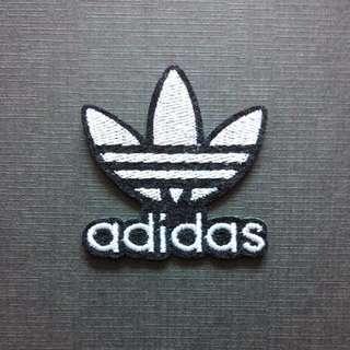 Adidas Logo Originals Iron On Patch