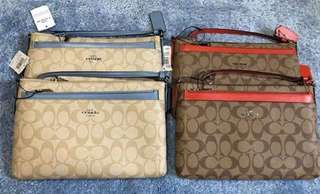 Authentic Coach East West Crossbody