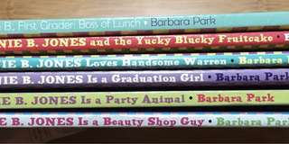Junie B. Jones by Barbara Park book bundle