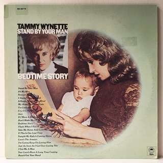 Tammy Wynette ‎– Stand By Your Man / Bedtime Story (1970s US Pressing - 2LPs in Gatefold Sleeve - Vinyl is Mint)