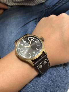 steinhart 德國銅製big pilot 手錶