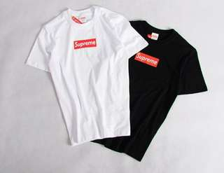 正版supreme T恤