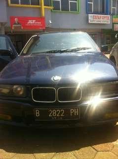 BMW series 320i biru metalic 1995