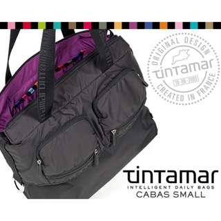 法國 Tintanmar Bi-bag 2 ways shoulder bag (black)