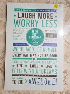 HAVE A GOOD DAY Design Canvas