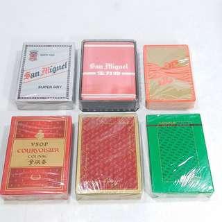 懷舊  樸克牌 6盒(散賣!不議價) Thx。