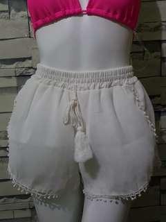 Summer Shorts ( White )