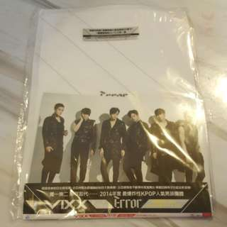 vixx error cd+a5 file