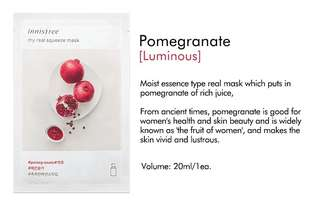 INNISFREE MY REAL SQUEEZE MASK POMEGRANATE