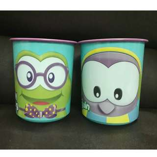 TUPPERWARE Froggy & Poppy OT Canister 2L (authentic)