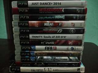 PS3 games (all original)