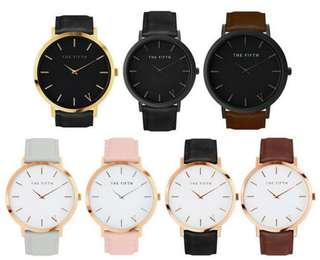 [PO] Minimalist Women Leather Strap Watch
