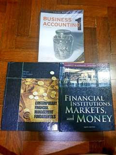 Used Textbooks : Accounting and Finance
