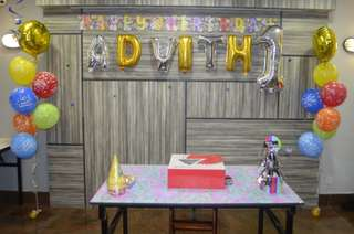 Birthday Party Helium Balloons