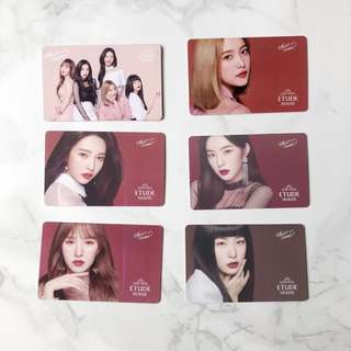 🚚 Etude House x Red Velvet Luv Kit Gift Card