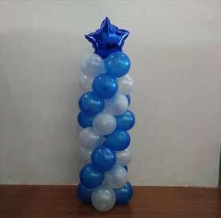 Small Pillar Balloons