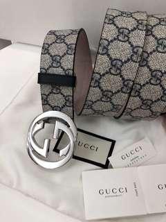 Gucci 腰帶 宽4毫米 Size 90   95。100  105cm 特价
