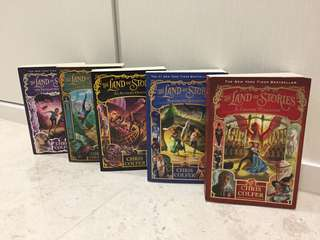 [WTS] The land of stories book 1-5