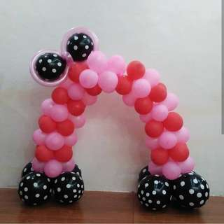Cake Arch Balloons