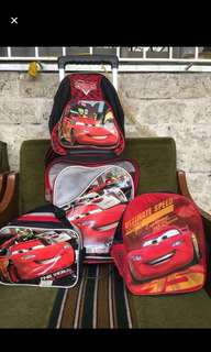 Cars Junior Bags Take all for 1000