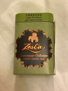Zesta Connoisseur Collection Finest Green Tea Infused with Natural Jasmine