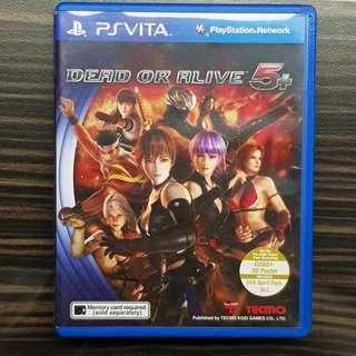 PS Vita Dead or Alive 5+