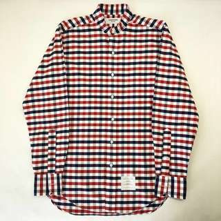 Thom Browne Checkered Shirt