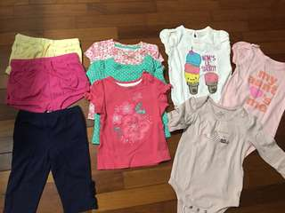 Baby Girl Clothes bundle 6-12 month