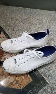Jual Jack Purcell Ox Leather White Original EU 44